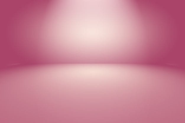 Studio background concept - abstract empty light gradient purple room background