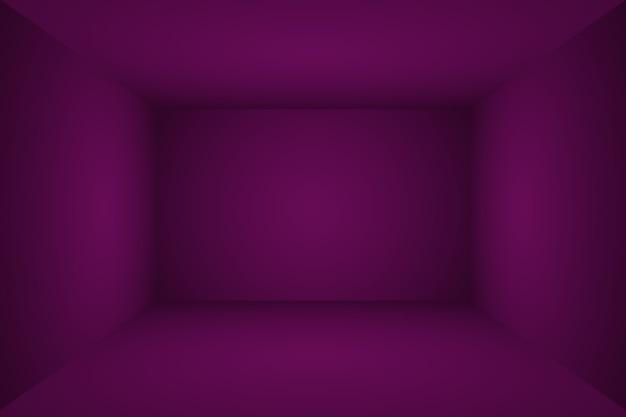 스튜디오 배경 개념 제품 p에 대 한 추상 빈 빛 그라데이션 보라색 스튜디오 룸 배경...