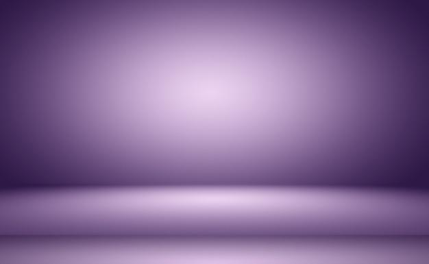 Студия фон концепция абстрактный пустой световой градиент фиолетовый студийная комната фон для продукта p ...