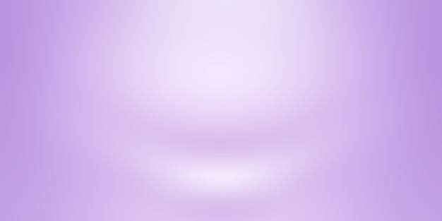 Концепция фона студии - абстрактный пустой светлый градиент фиолетовый фон комнаты студии для продукта. обычный фон студии.