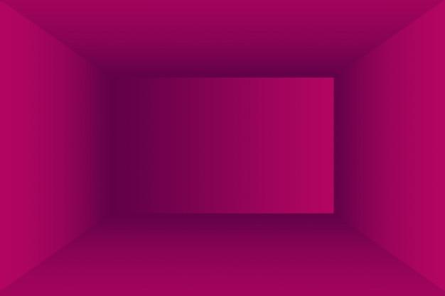 스튜디오 배경 개념 - 제품에 대한 추상 빈 빛 그라데이션 보라색 스튜디오 룸 배경. 일반 스튜디오 배경입니다.