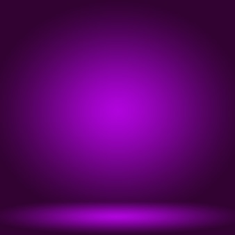 제품에 대 한 스튜디오 배경 개념 추상 빈 빛 그라데이션 보라색 스튜디오 룸 배경
