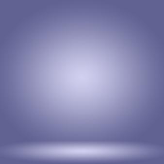 スタジオ背景コンセプト抽象的な空の光のグラデーション紫色のスタジオルームの背景製品
