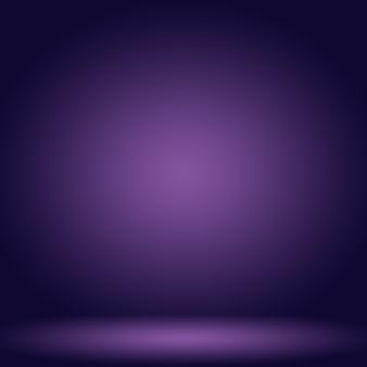 Студия фон концепция абстрактный пустой световой градиент фиолетовый студийный фон для продукта Бесплатные Фотографии