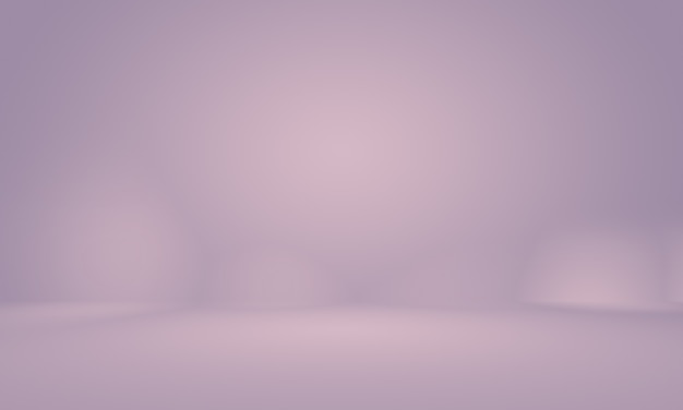 スタジオ背景コンセプト-製品の抽象的な空の光のグラデーション紫のスタジオルームの背景。