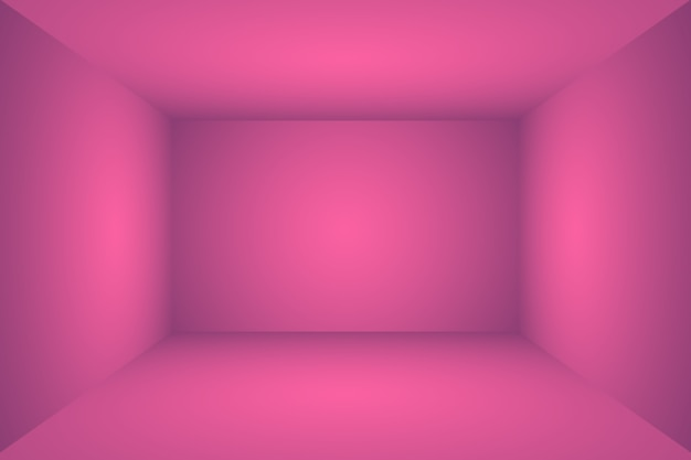 Studio background concept  abstract empty light gradient purple studio room background for product p...