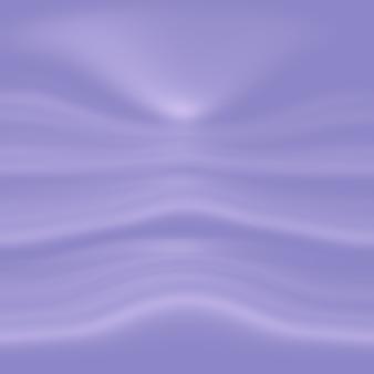 Concetto del fondo dello studio - fondo viola chiaro vuoto astratto della stanza dello studio di pendenza per il prodotto