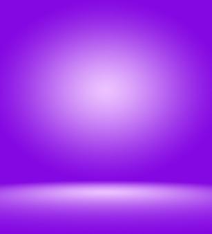 Studio sfondo concetto astratto vuoto gradiente di luce viola studio room background per prodotto for