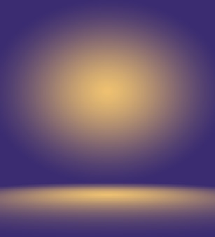 Studio background concept - abstract empty light gradient purple studio room background for product.