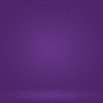 Studio sfondo concetto astratto vuoto gradiente di luce viola studio room background per prodotto