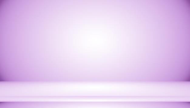 工作室背景概念-抽象空光渐变紫色工作室房间背景的产品。