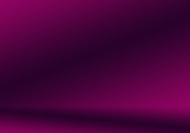 Studio sfondo concept - astratto vuoto sfumatura di luce viola studio camera sfondo per il prodotto.