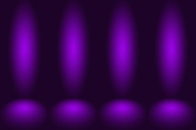 스튜디오 배경 개념-제품에 대한 어두운 그라데이션 보라색 스튜디오 룸 배경.