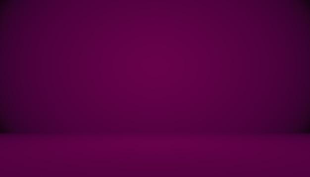 Студия фон концепция темный градиент фиолетовый студийный фон для продукта