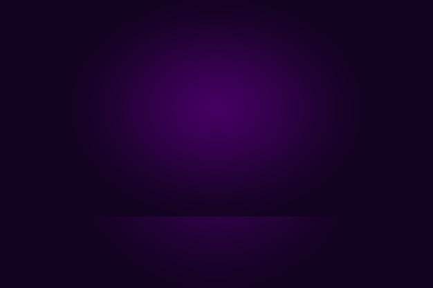 제품에 대한 스튜디오 배경 개념 어두운 그라데이션 보라색 스튜디오 룸 배경