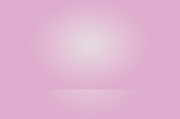 Studio background concept - dark gradient purple studio room background for product.