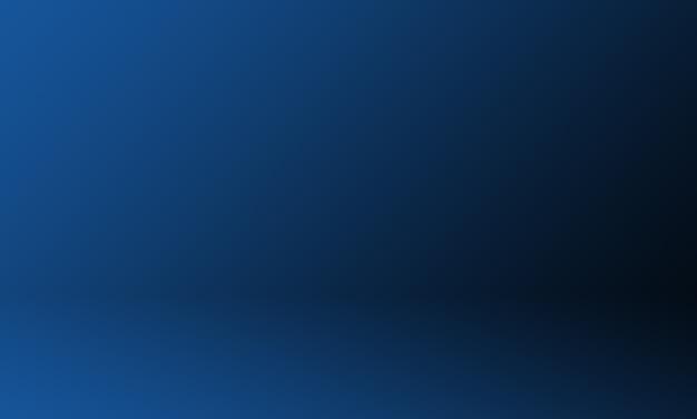 Studio background dark gradient blue