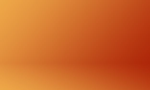 Studio background dark orange gradient
