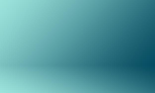 Studio background gradient blue