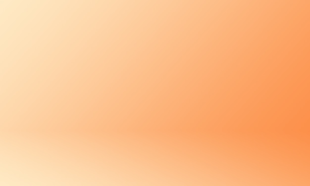 Studio background orange gradient