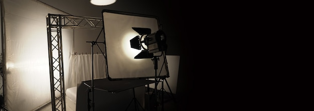Studio light equipments for photo or film movie video light set for professional shooting studio