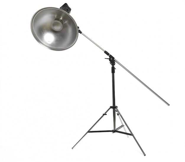 Studio lighting isolated on white