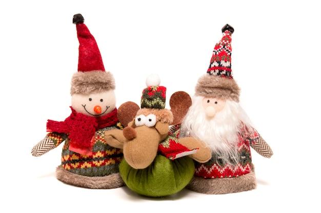 Stuffed christmas toys