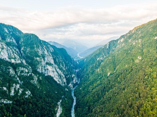 멋진 산 풍경