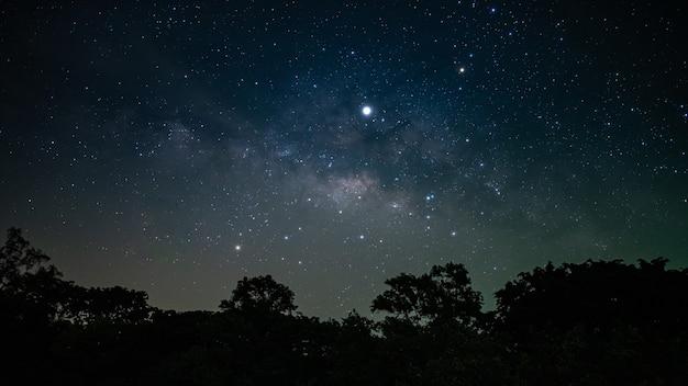 夜空の見事な星