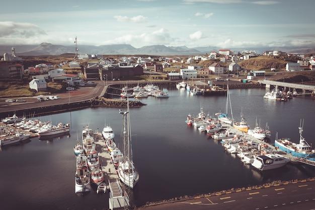 アイスランド西部のstykkisholmur