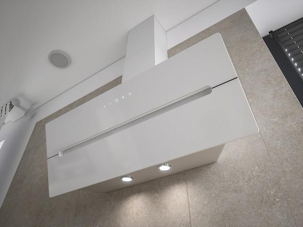 Стильный 3d архитектурный дизайн