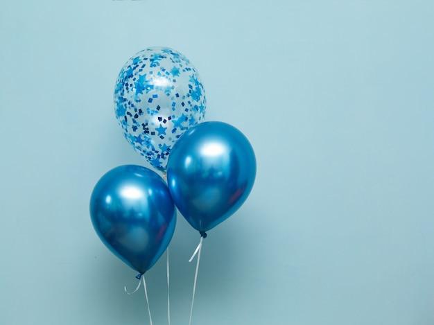 Stylish birthday party balloons