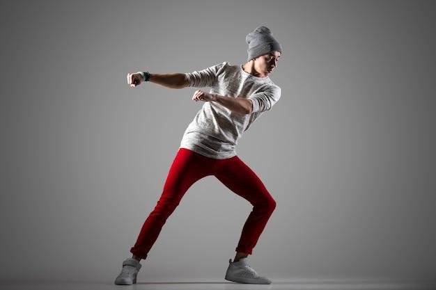 Stylish dancer performance