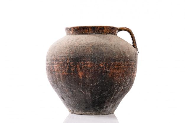 세련된 수제 세라믹 독특한 인테리어 요소 꽃병과 그릇