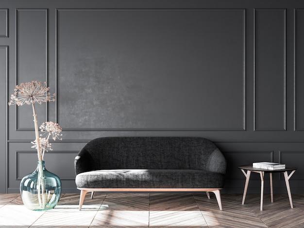 Стильный интерьер гостиной современной квартиры