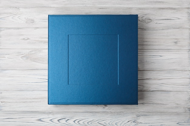 Stylish square box for photo books