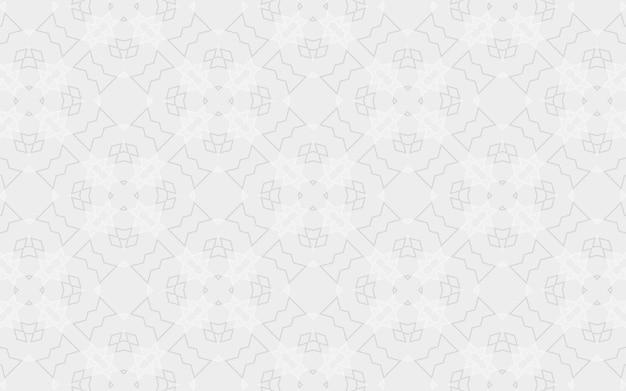 幾何学的な要素の六角形の三角形の抽象的な形のスタイリッシュな白い背景。ウェブサイトのデザイン、レイアウト、既製のモックアップのパターン