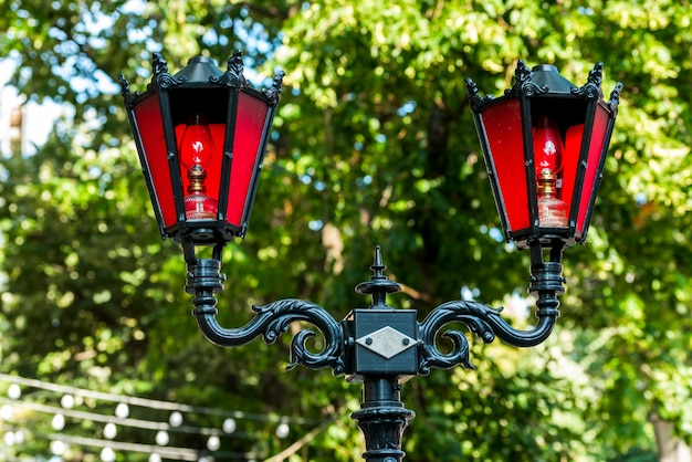 Стилизованные уличные фонари