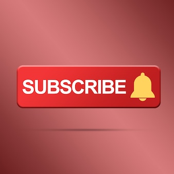 Subscribe button with bell rendering