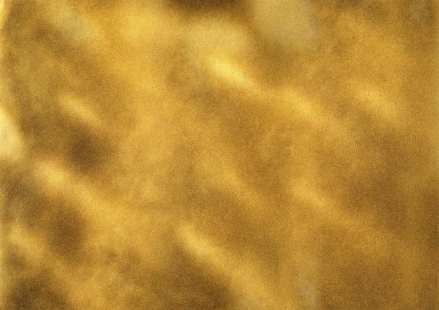 Subtle noise gold spray paint texture. modern art