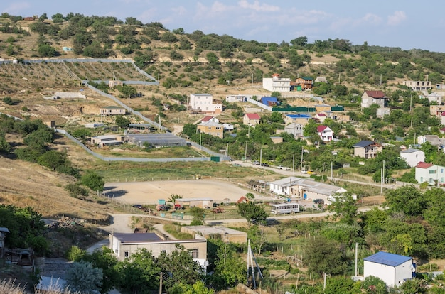 Suburban settlement