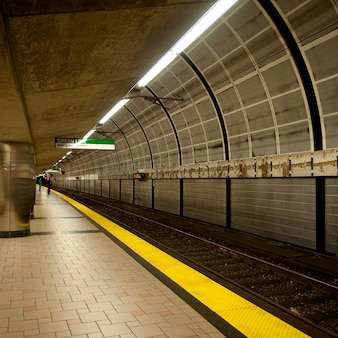 米国マサチューセッツ州ボストンの地下鉄