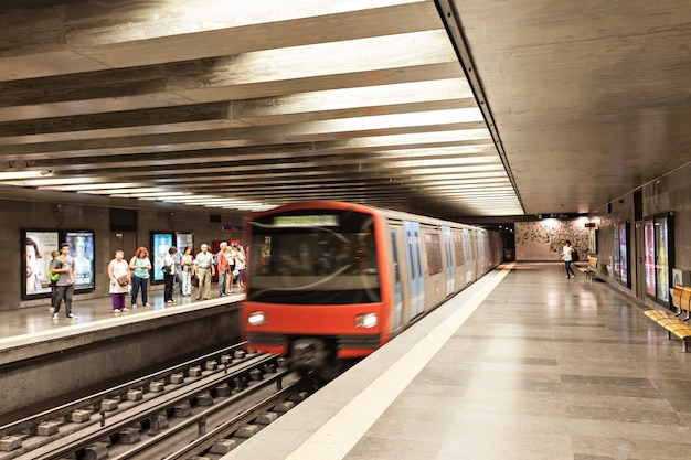 Subway in lisbon