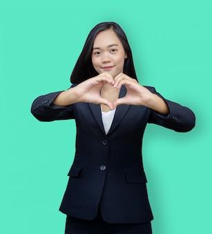 成功事業は奉仕心と愛の仕事 Premium写真