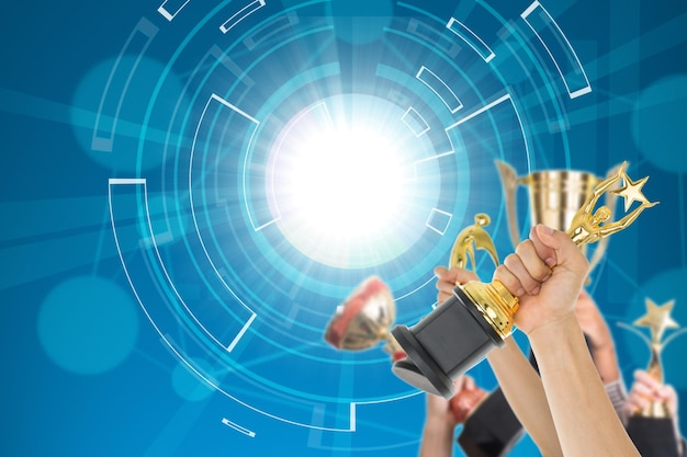 Рынок будущего успеха с присуждением трофея победителя