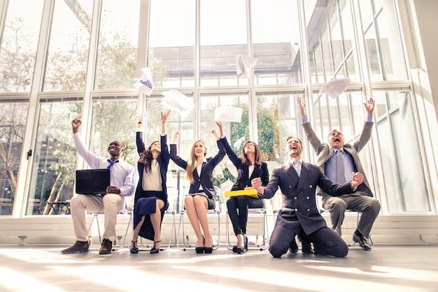 성공적인 사업 사람들