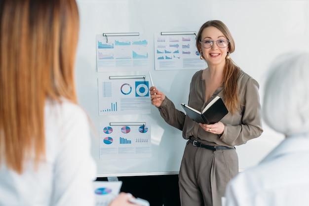 Успешные деловые женщины. уполномоченная женская компания