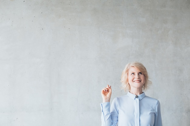 Successful mature business lady.  female empowerment