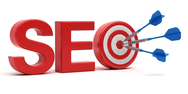 Successful seo. search engine optimization concept