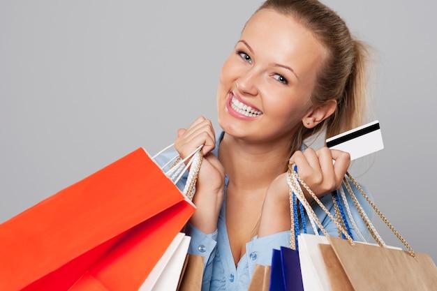 Успешные покупки с помощью кредитной карты